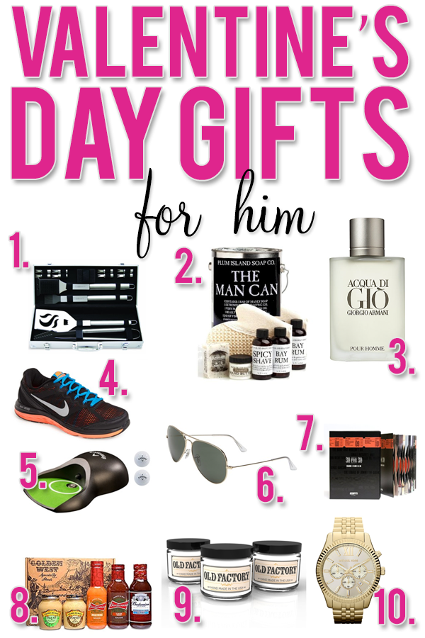 Over 30 different ideas for Valentine's Day gifts for him, her, kids, babies...great resource for present ideas!