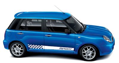 Kit adesivo Sport para Lifan 320 LA tuning peças acessórios frisos
