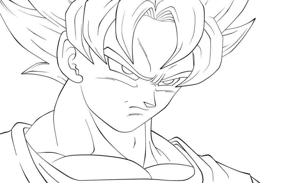 Dragon Ball Z Kai Super GT e AF Desenhos para colorir - imagens para colorir do dragon ball z