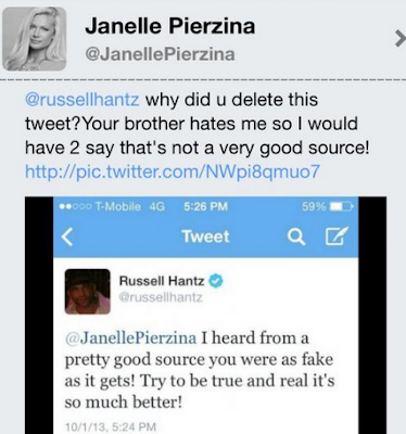 Janelle Pierzina Attacked by Russell Hantz
