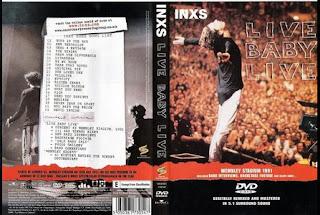 Dvd konser : INXS - Live Baby Live (1991), jual dvd konser, live musik, musik video,