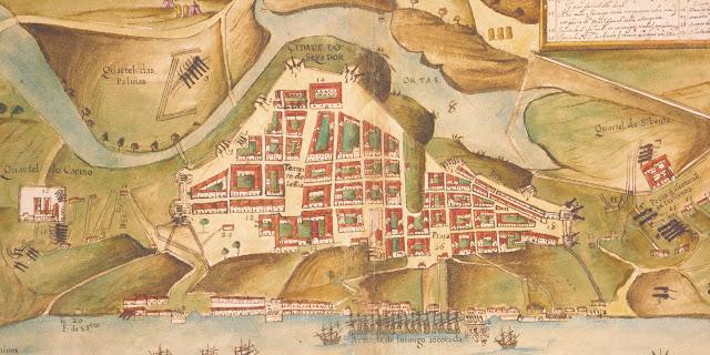 Iconografia da cidade de Salvador em 1629