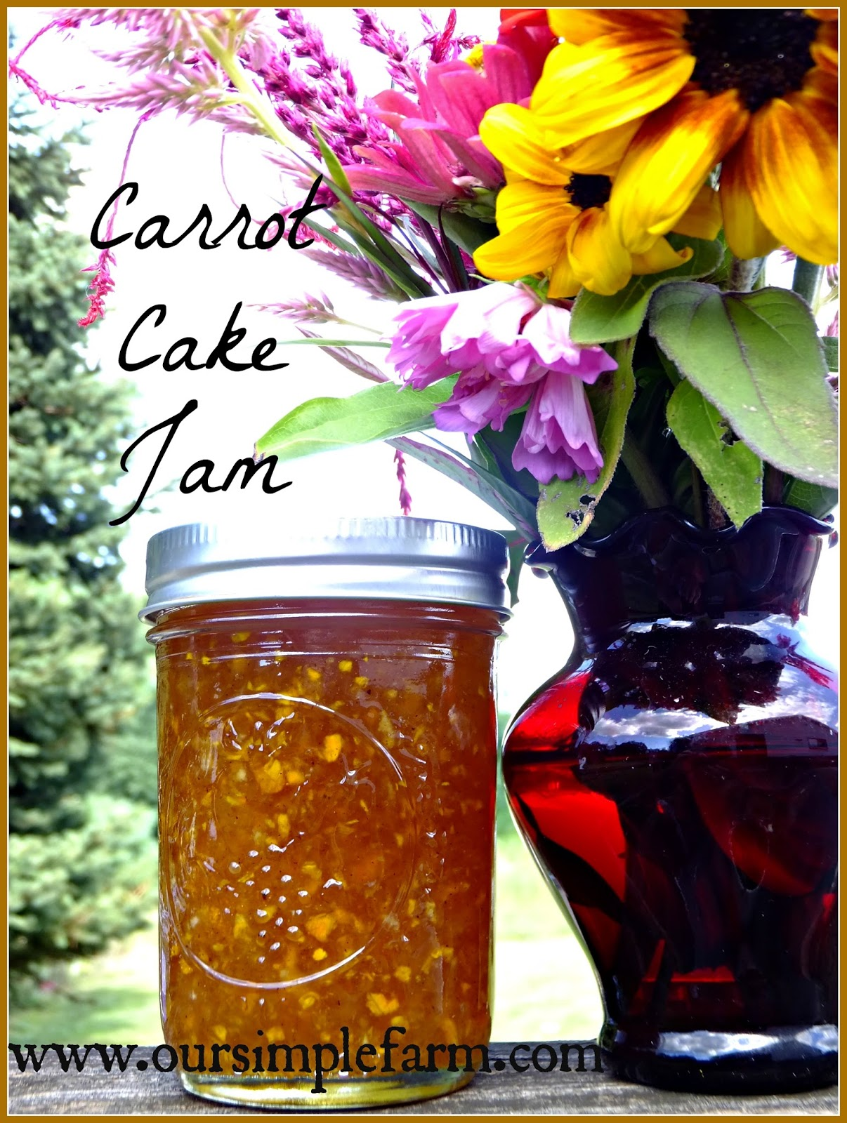 Our Simple Farm: How to Can Glazed Carrots and Carrot Cake Jam