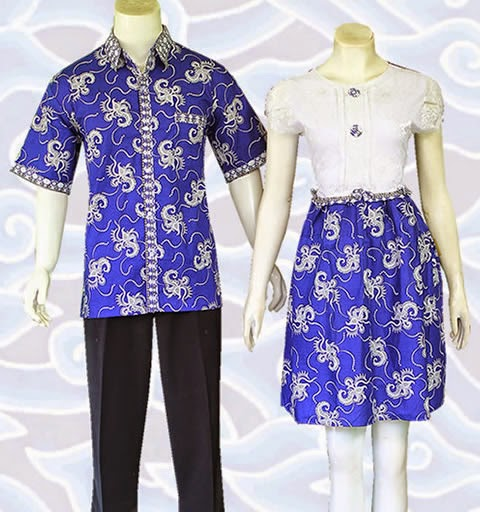 batik couple anak muda