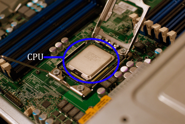 What does CPU really look like? - Tondats