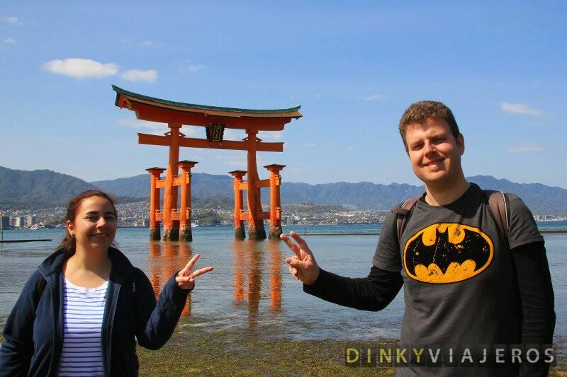 Torii flotante de Itsukushima en Miyajima