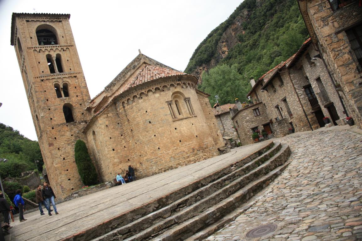 Catalonia Medieval Villages Beget Beautiful Places Of Barcelona And Catalonia