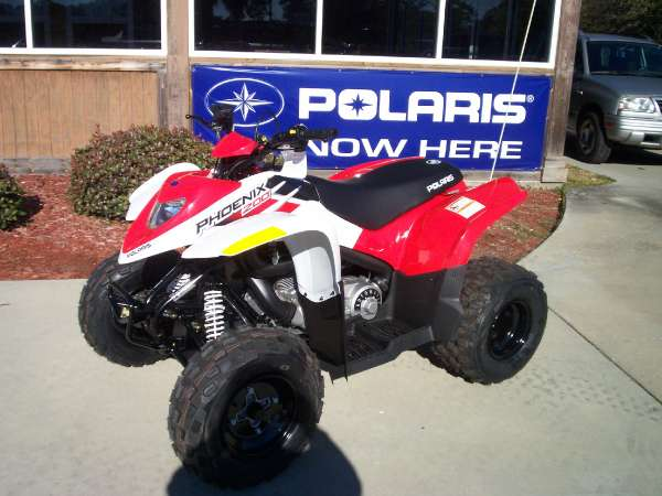 2011 Polaris Phoenix 200 Specifications And Pictures