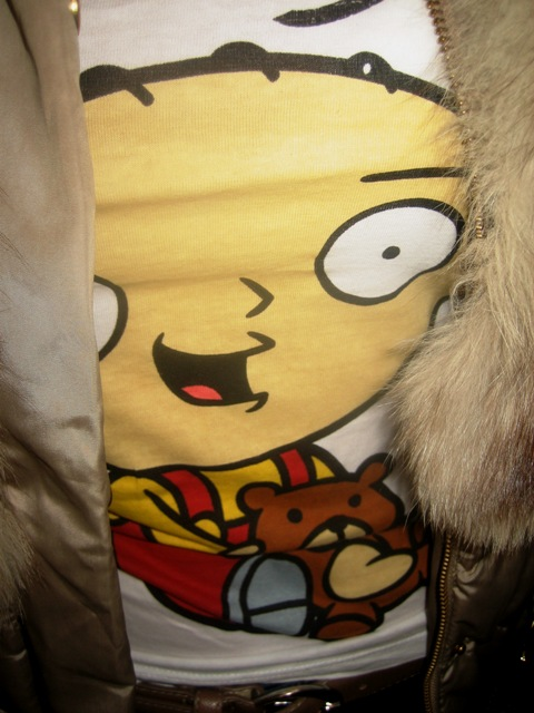 Stewie Griffin and Slipper Boots