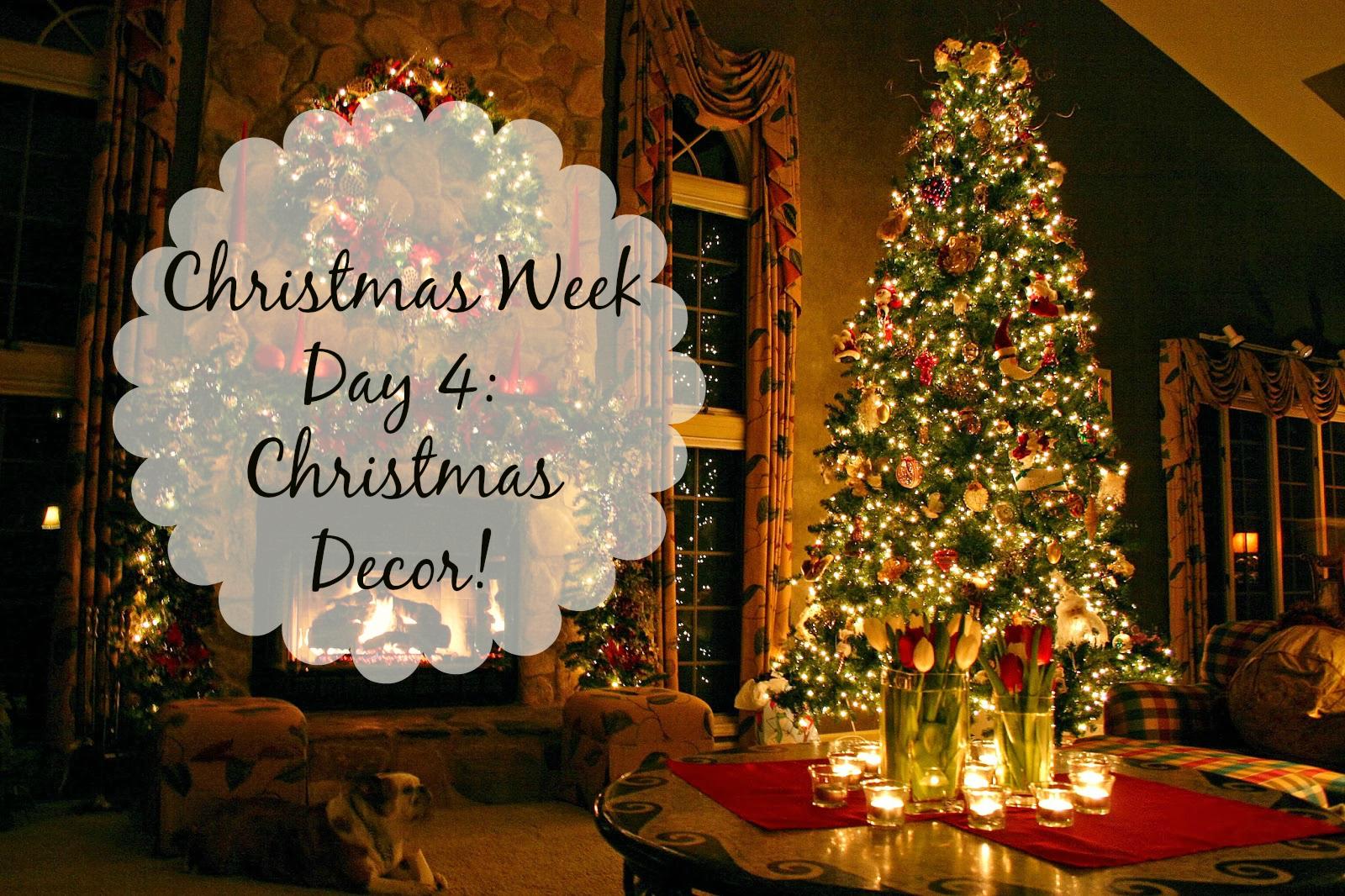 Christmas Week Day 4: Christmas Decor! (Inspirations)