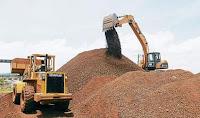 extraeran oxido de hierro en Olanchito