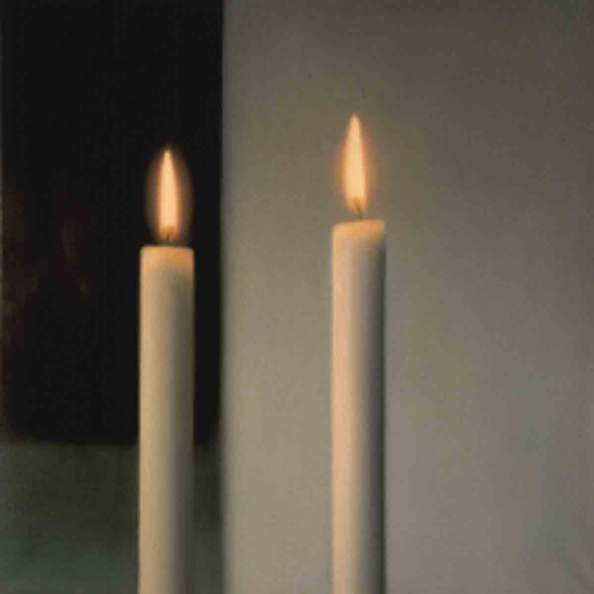 Richter Candle Gerard Richter Two Candles