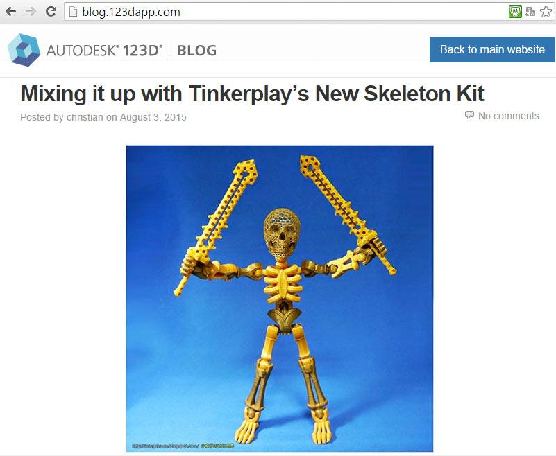 Autodesk 123D Blog