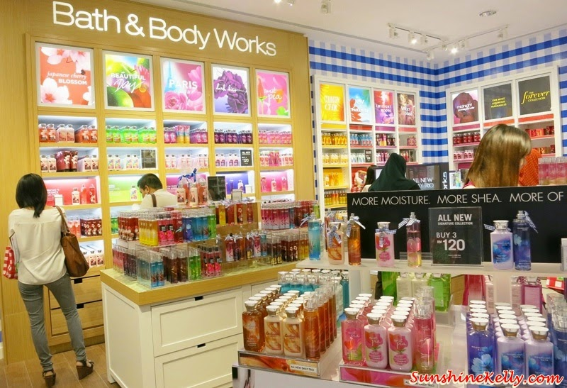 Bath & Body Works Malaysia, Bath & Body Works, Malaysia, Signature Collection, Home Fragrance, Hand Soaps and Sanitizers, Aromatherapy, Forever Collection, The Men's Shop, True Blue Spa Collection, Bath & Body Works product price list, price list