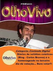 """Clique na imagem abaixo e vote no blog """"Diários de Solidões Coletivas"""" no Prêmio Olho Vivo 2017"""