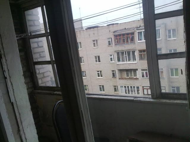 Фото старого балкона
