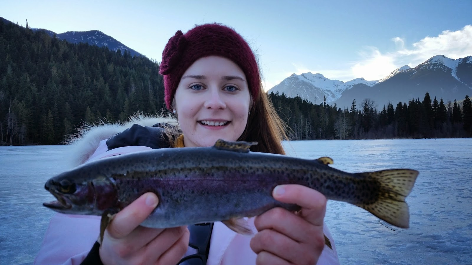 Ice fishing tours and packages in pemberton bc canada for Ice fishing fish finders