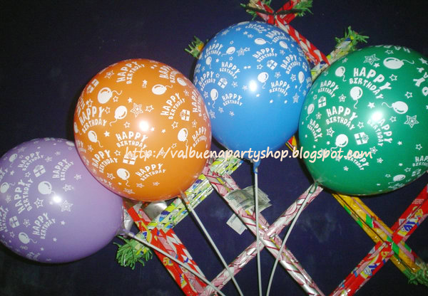 Valbuenapartyshop 39 s site balloon packages for Balloon decoration packages manila