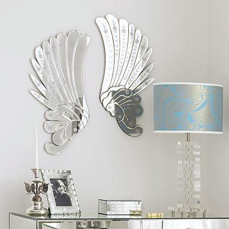 Velvet Puff Angel Wings
