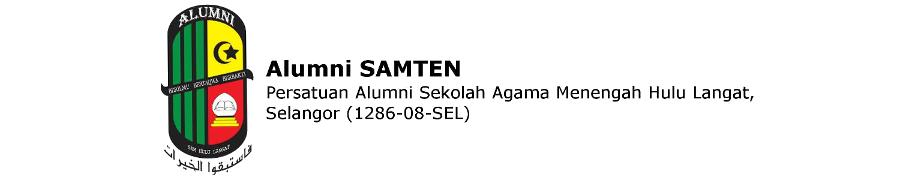 Persatuan Alumni Sekolah Agama Menengah Hulu Langat. Alumni SAMTEN