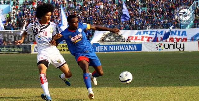 Arema Indonesia Kalahkan Persiba Balikpapan 2 – 1