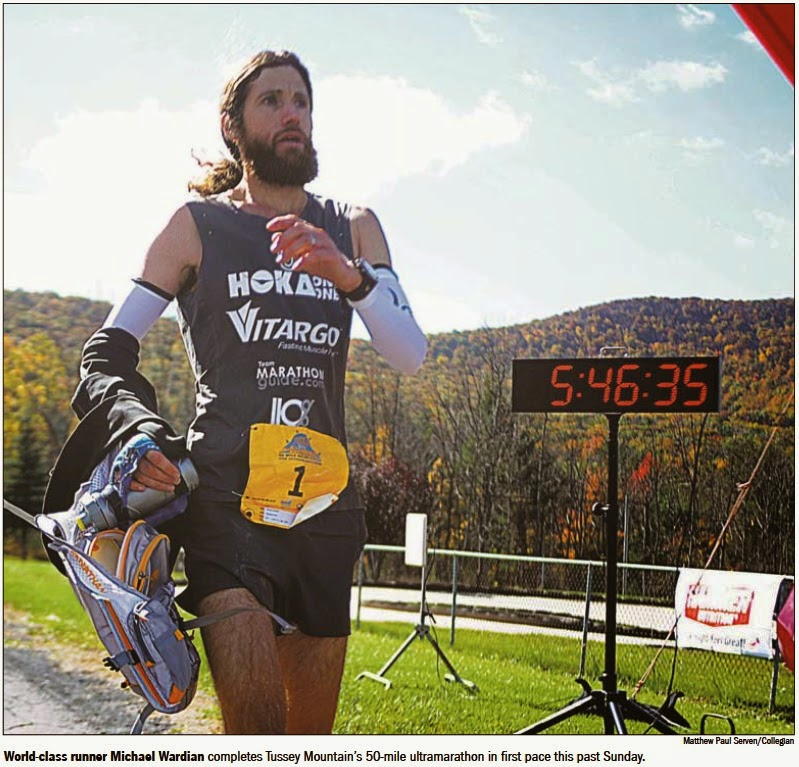 Mike Wardian, ultramarathon, run, running, marathon, Tussey Mountainback, Pennsylvania