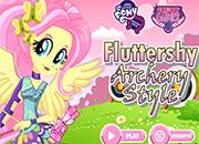 MLPEG Fluttershy Archery Style