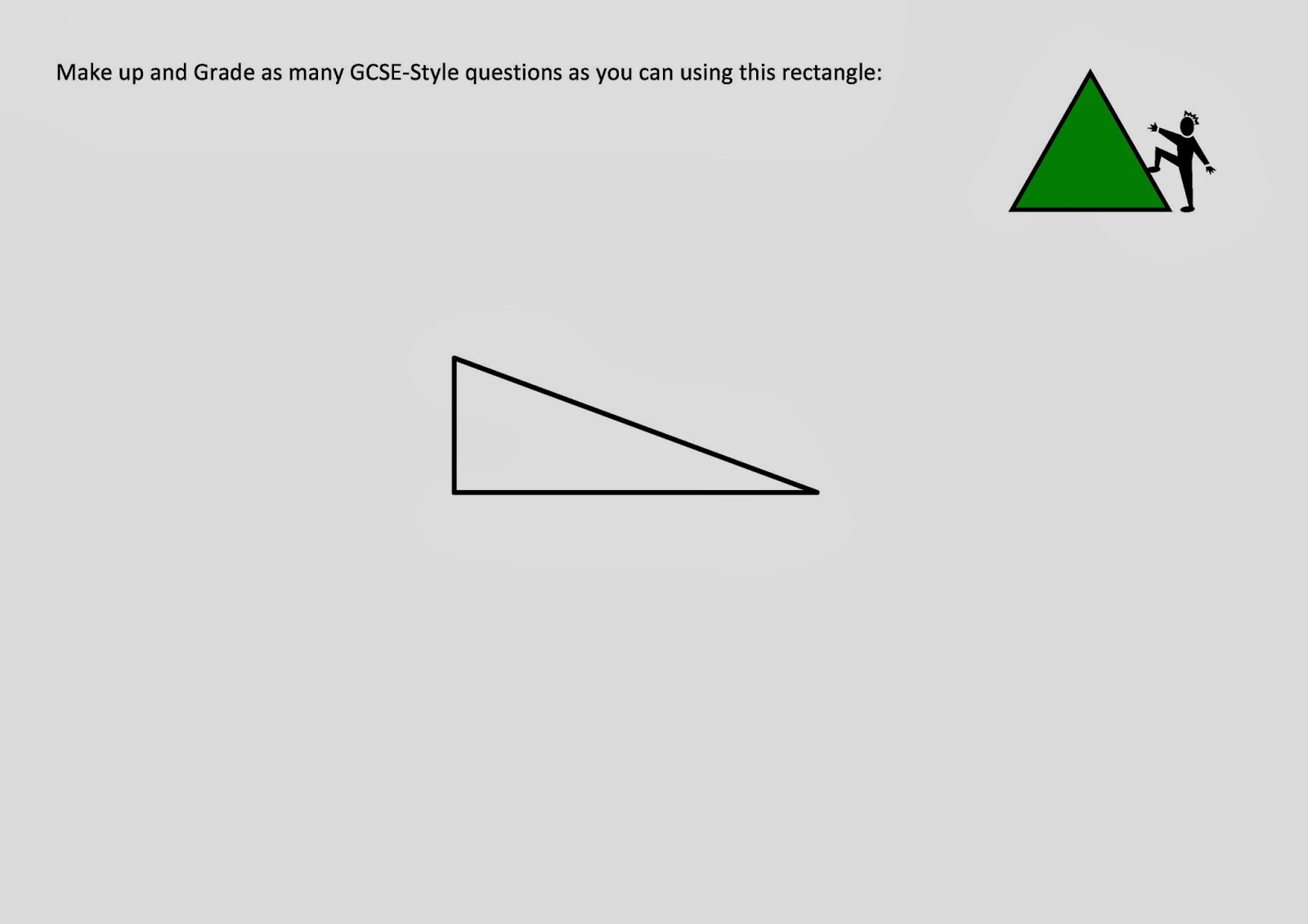 how to tell if 3 numbers make a triangle