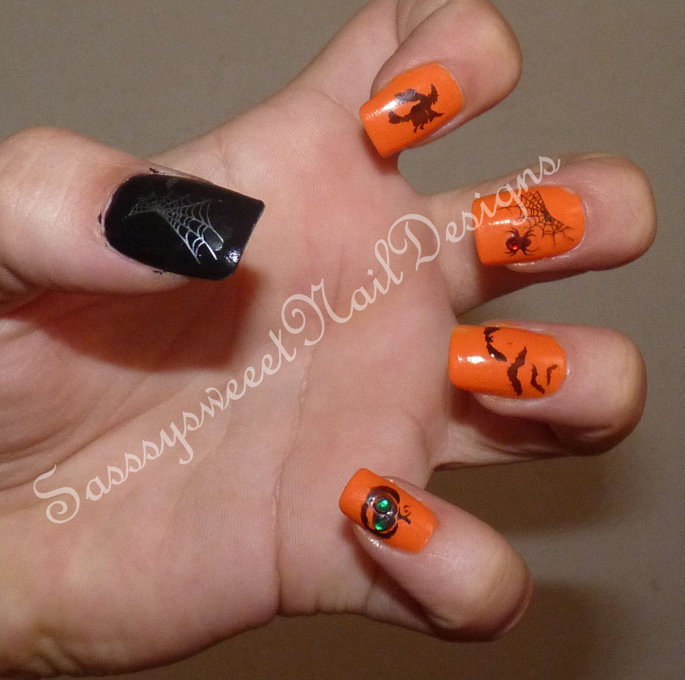 Nail Designs October Nail Arts