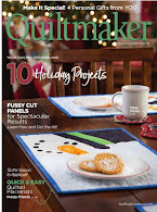Only $4.99!  2018 Nov/Dec Quiltmaker magazine (click!)