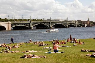 Puente sobre el río Nevá, San Petersburgo