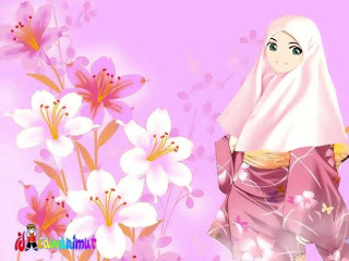 Wallpaper: collection of animated hijab