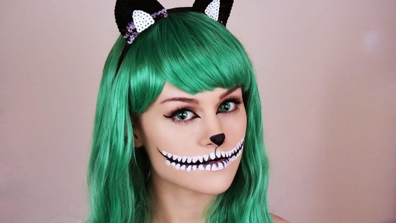 maquiagem hallowen, festa das bruxas, fantasias