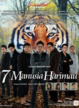 Daftar Nama Pemeran 7 Manusia Harimau