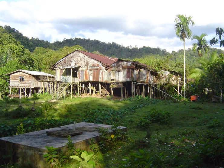 Malaysian Longhouse