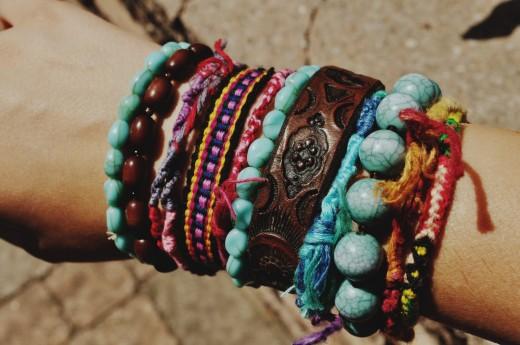 Funky Friendship Bracelets