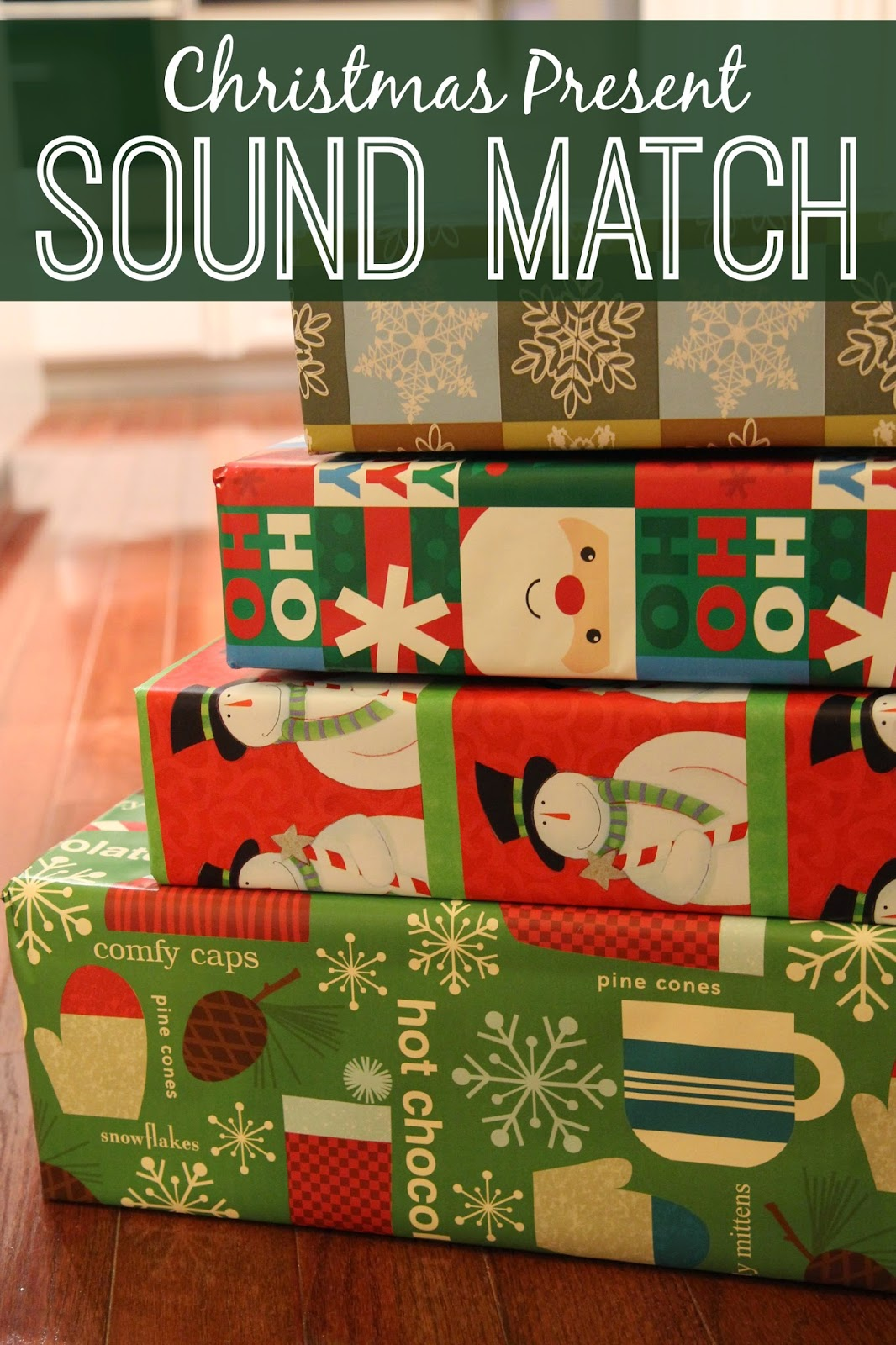 Toddler Approved Christmas Present Sound Match for Toddlers