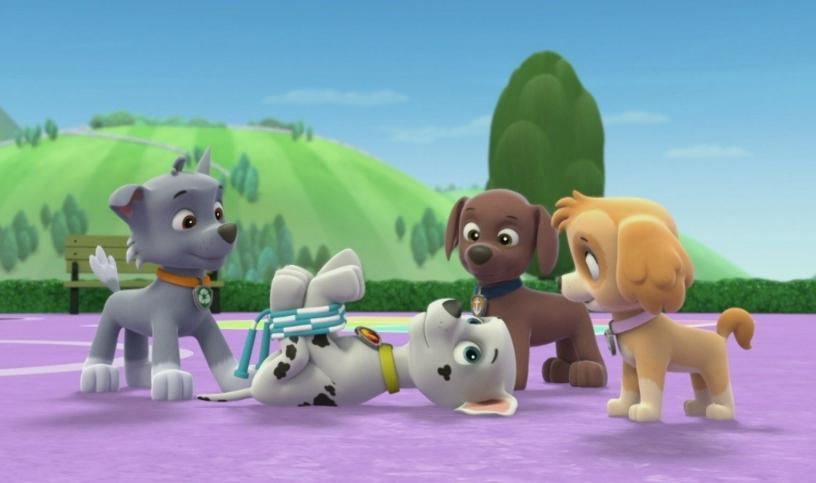 paw patrol pups find a genie full episode