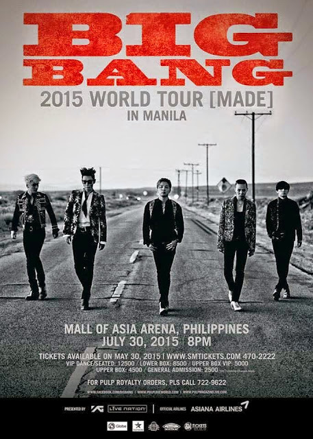 BIGBANG 2015 WORLD TOUR at Mall of Asia Arena
