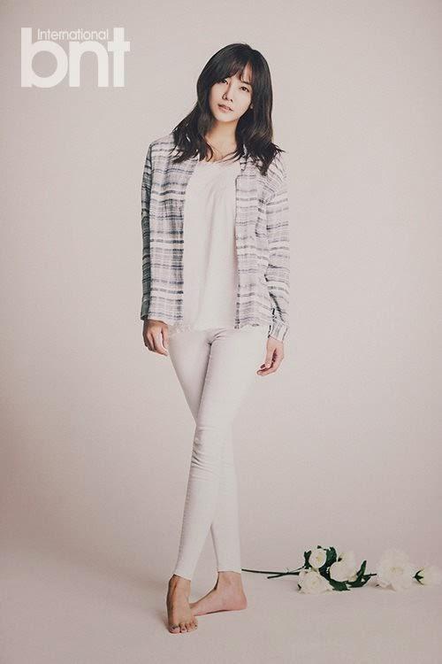 Go Eun Ah - bnt International May 2014