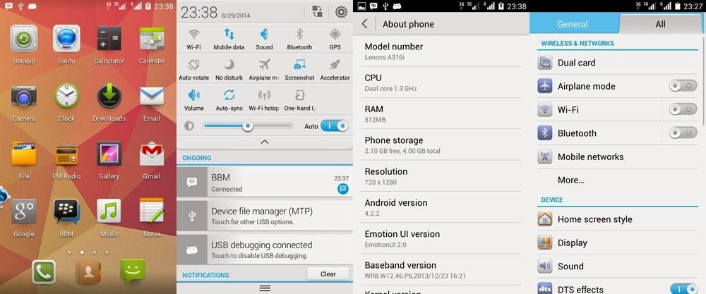 Membuat Lenovo A316i Menjadi Huawei Honor | Cicipi Emotion UI!