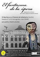 Del 7 al 12 de agosto de 2012 en las Noches de Verano en el Palacio de la Buhaira de Sevilla