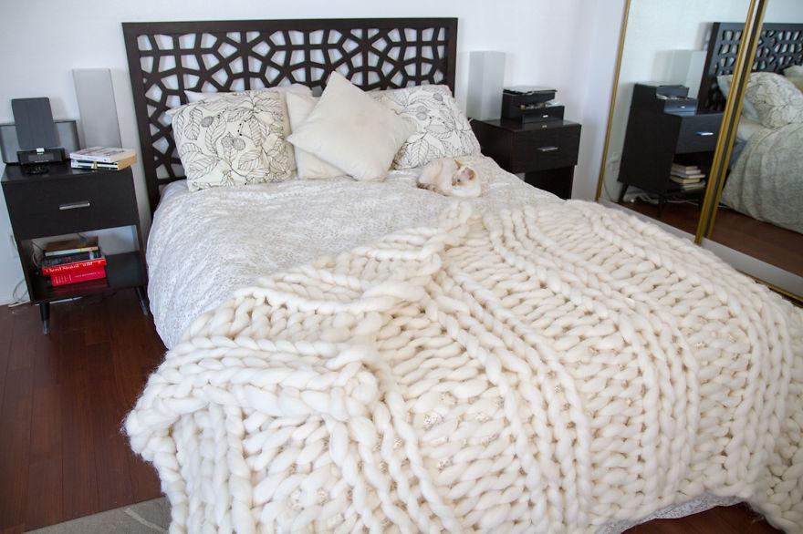 Одеяло вязать