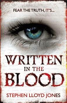 Written in the Blood by Stephen Lloyd Jones