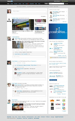Linkedin's New Homepage