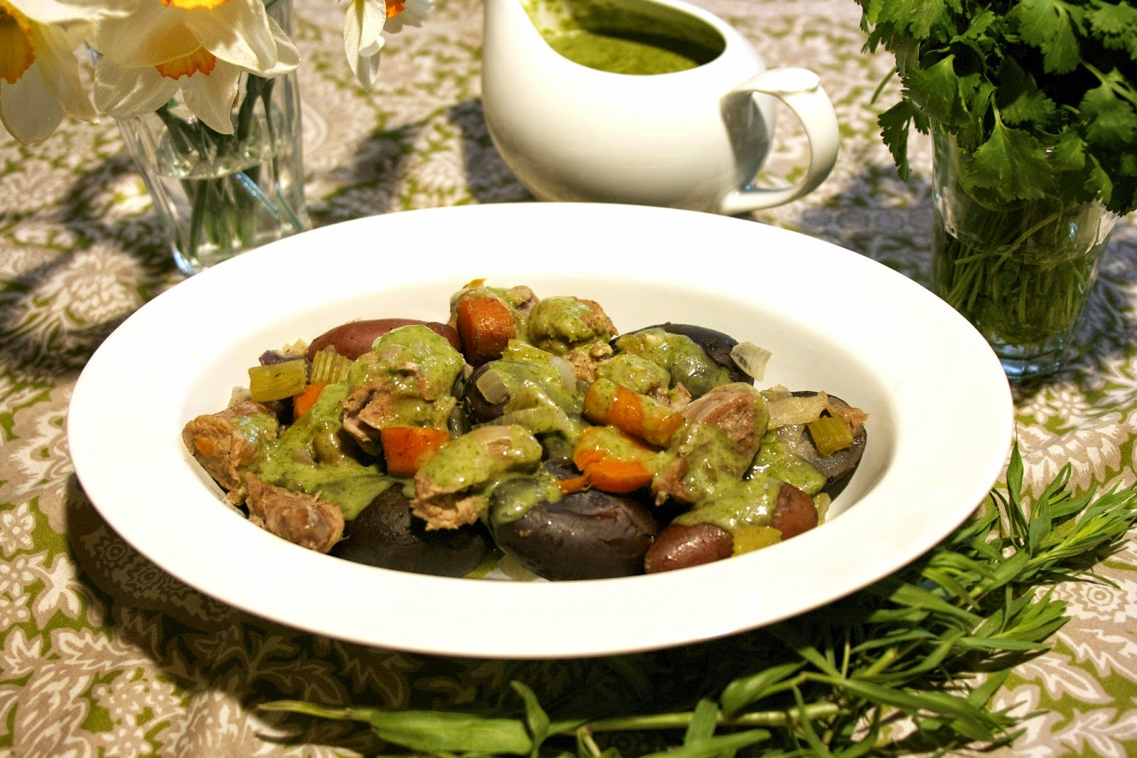 Green-as-Spring Veal Stew- FG- simplelivingeating.com