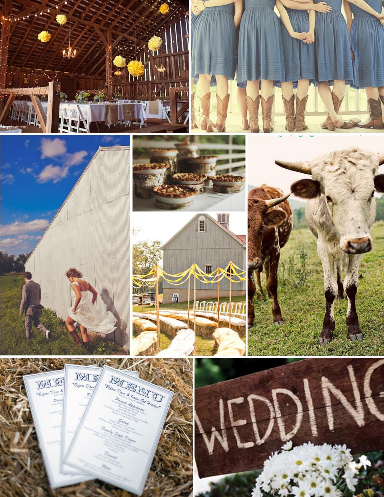 Heather+country+wedding - Country Wedding Ideas For Fall