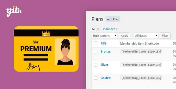 WooCommerce Membership v1.0.2 – YIThemes