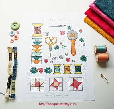 My Quilting Tools free printable