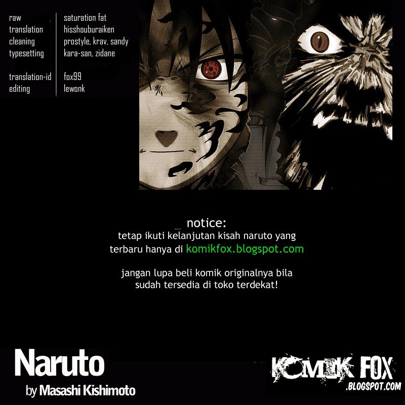 Komik manga credits 536 shounen manga naruto